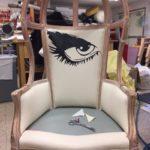 The School for Lies: Eye Chair