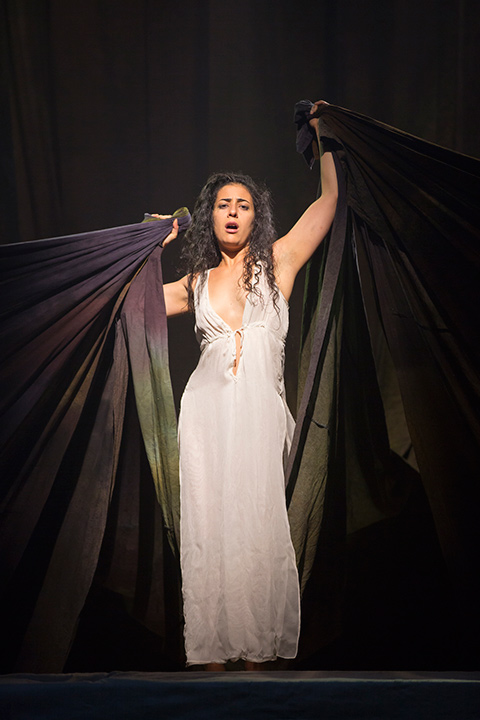 Nadine Malouf as Salomé at the STC Production.