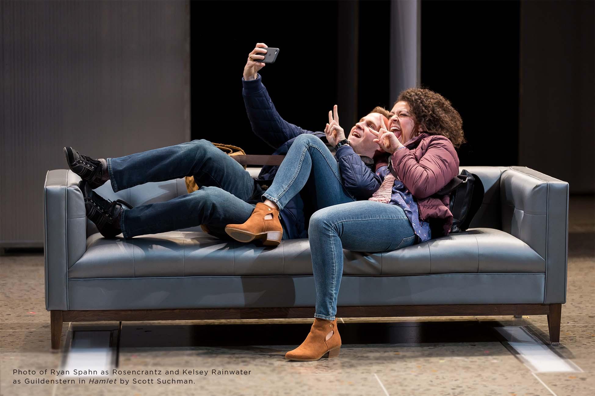 Photo of Ryan Spahn and Kelsey Rainwater by Scott Suchman.
