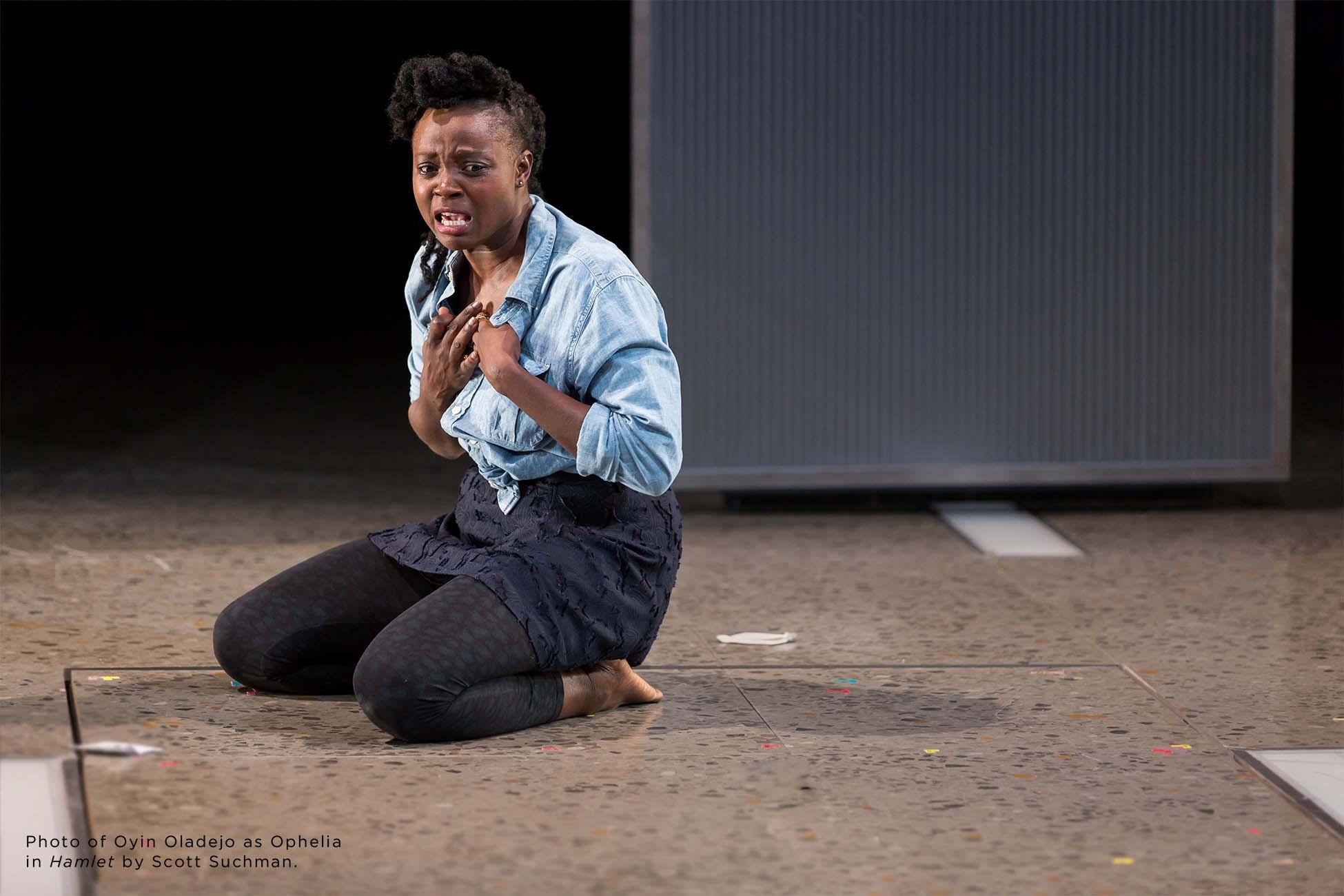 Photo of Oyin Oladejo by Scott Suchman.