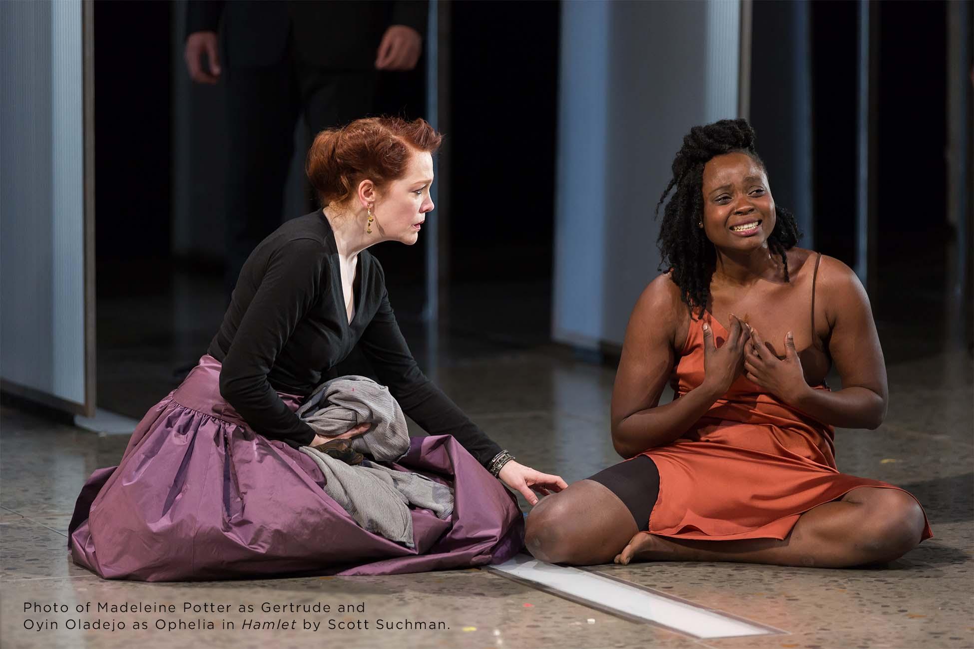 Photo of Madeleine Potter and Oyin Oladejo by Scott Suchman.