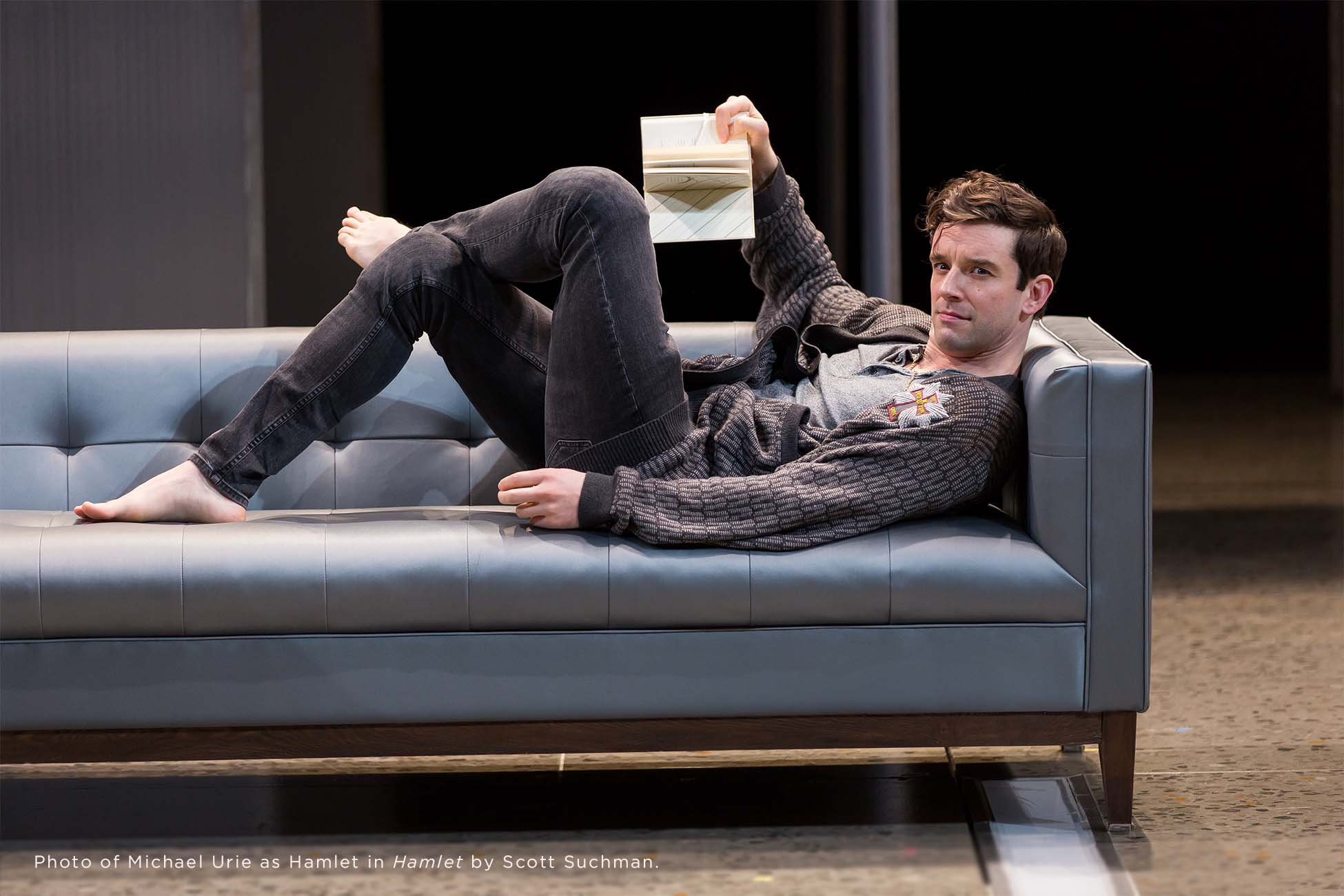 Photo of Michael Urie by Scott Suchman.