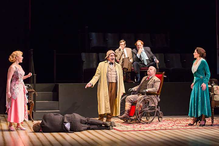 The Critic & The Real Inspector Hound Production at Shakespeare Theatre Company.