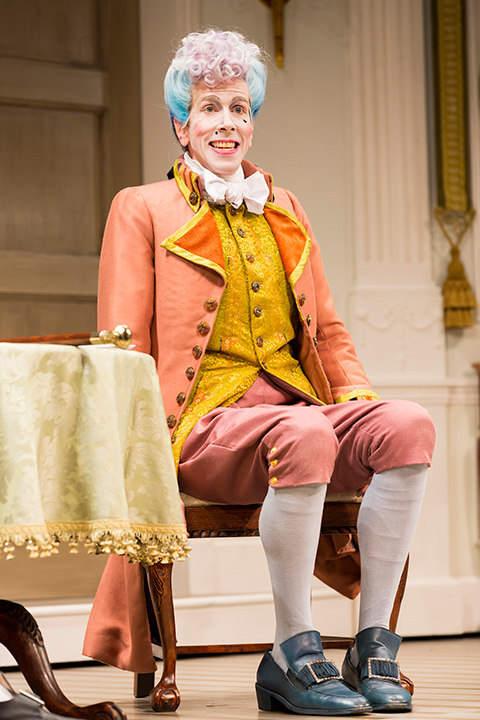 Robert Stanton as Mr. Puff in the STC's production of The Critic.